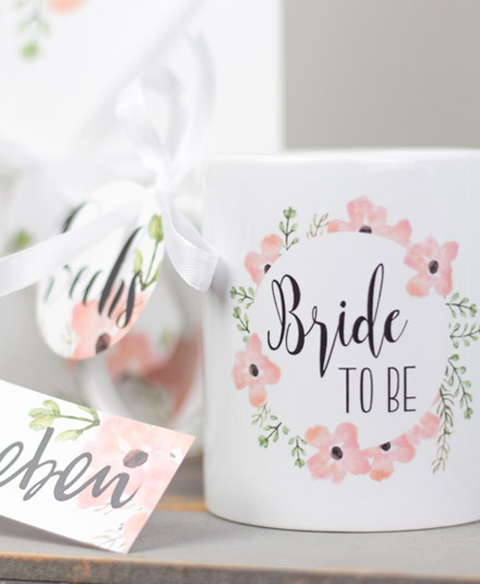 bride to be tasse