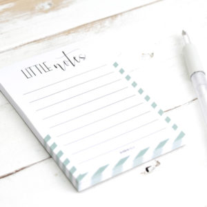 notizblock little notes hochzeit